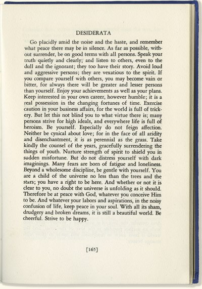 photo relating to The Desiderata Poem Printable named Desiderata - Desiderata Poem - Desiderata Prints