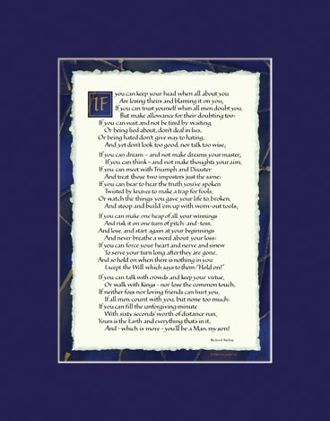 image about If by Rudyard Kipling Printable called If via Rudyard Kipling - If as a result of Kipling Print